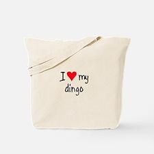 I LOVE MY Dingo Tote Bag