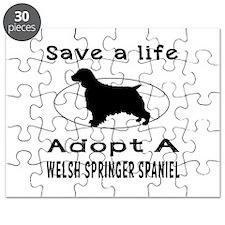 Adopt A Welsh Springer Spaniel Dog Puzzle