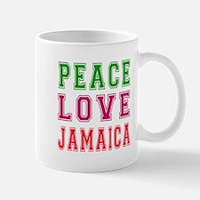 Peace Love jamaica Mug