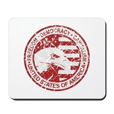 Freedom-Democracy Seal Mousepad