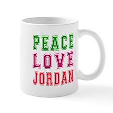 Peace Love Jordan Mug