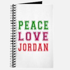 Peace Love Jordan Journal