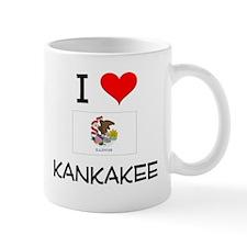 I Love KANKAKEE Illinois Mugs