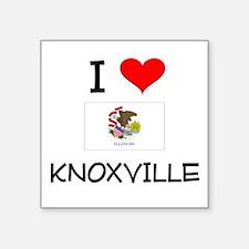 I Love KNOXVILLE Illinois Sticker