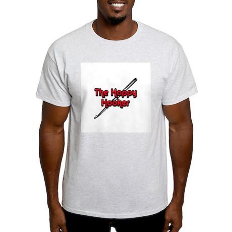 The Happy Hooker Ash Grey T-Shirt