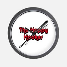 The Happy Hooker Wall Clock