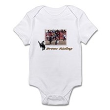 Bronc Riding 2 Infant Bodysuit