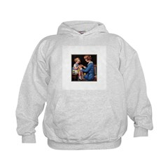 Mother and Daughter Knitting Hoodie