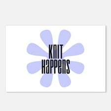 Knit Happens Postcards (Package of 8)