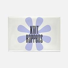 Knit Happens Rectangle Magnet