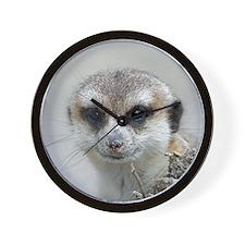 Meerkat001 Wall Clock