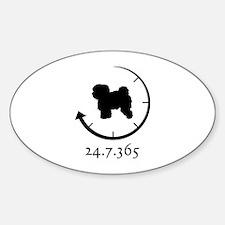 Bolognese Sticker (Oval)