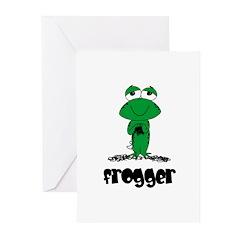 Yarn - Frogger Greeting Cards (Pk of 10)