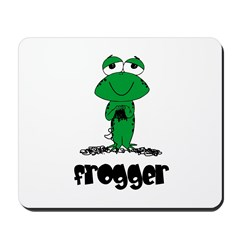 Yarn - Frogger Mousepad