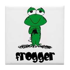 Yarn - Frogger Tile Coaster