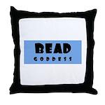 Bead Goddess Throw Pillow