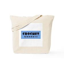Crochet Goddess Tote Bag