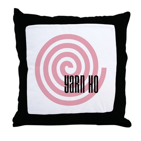 Yarn Ho Throw Pillow