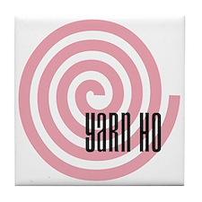 Yarn Ho Tile Coaster