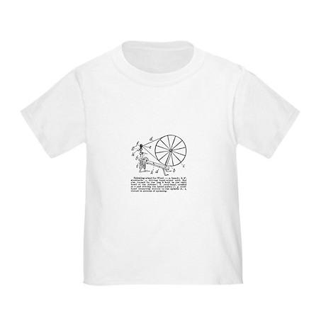 Yarn - Vintage Spinning Wheel Toddler T-Shi