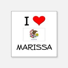 I Love MARISSA Illinois Sticker