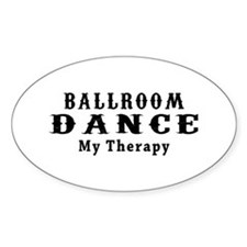 Ballroom Dance My Therapy Decal