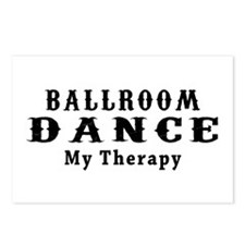 Ballroom Dance My Therapy Postcards (Package of 8)