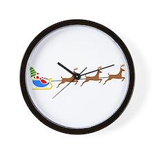 Sleigh Ride Wall Clock