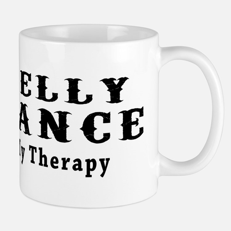 Belly Dance My Therapy Mug