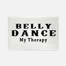 Belly Dance My Therapy Rectangle Magnet