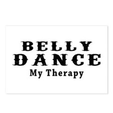 Belly Dance My Therapy Postcards (Package of 8)