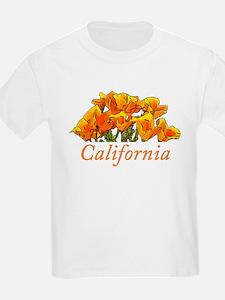 Stylized California Poppies T-Shirt