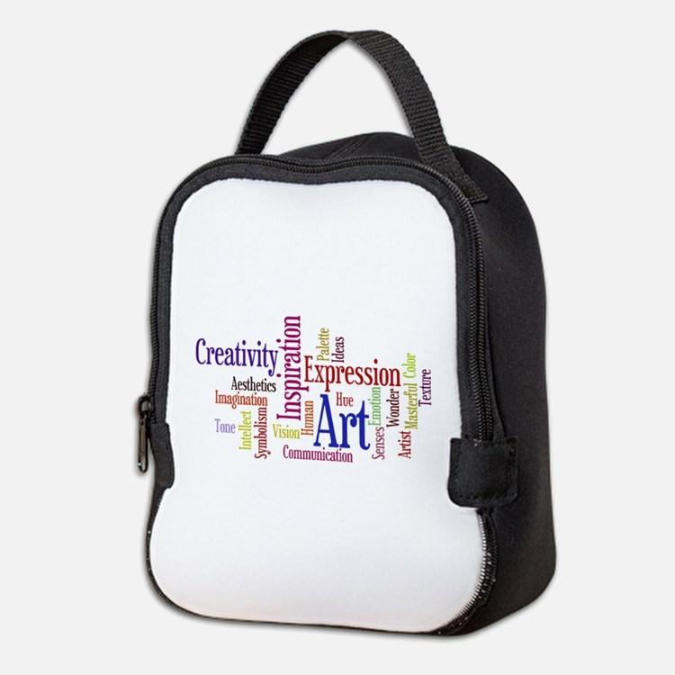 Artists Word Cloud, Creativity, Expression! Neopre