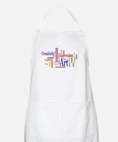 Artists Word Cloud, Creativity, Expression! Apron