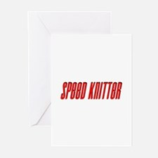Speed Knitter Greeting Cards (Pk of 10)