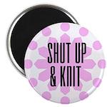 Shut Up & Knit Magnet
