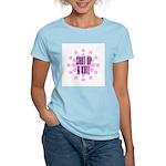 Shut Up & Knit Women's Pink T-Shirt