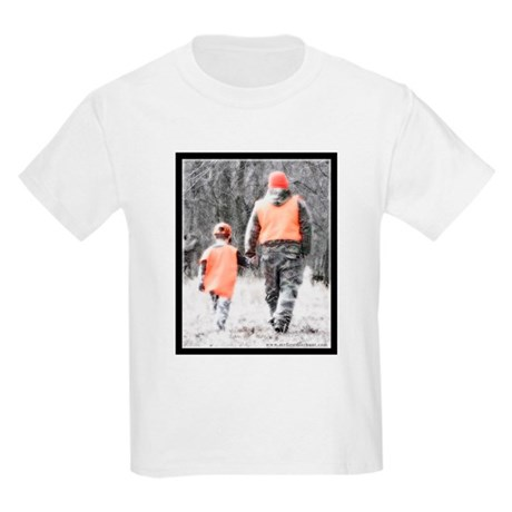 Father Son Hunting Kids T-Shirt