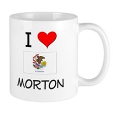 I Love MORTON Illinois Mugs
