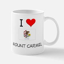I Love MOUNT CARMEL Illinois Mugs