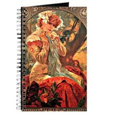 Cute Alphonse mucha Journal
