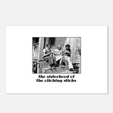 Sisterhood of the Clicking St Postcards (Package o