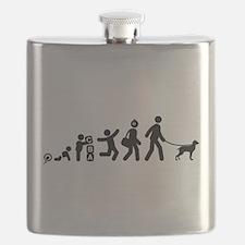 Bracco Italiano Flask