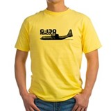 C 130 Mens Yellow T-shirts