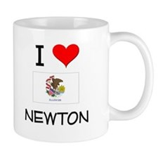 I Love NEWTON Illinois Mugs