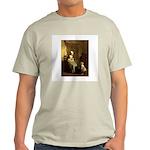 The Knitting Lesson Ash Grey T-Shirt
