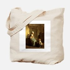 The Knitting Lesson Tote Bag