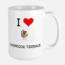I Love OAKBROOK TERRACE Illinois Mugs