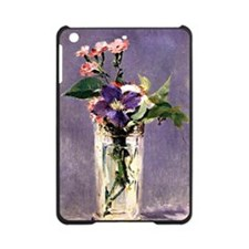 Pinks and Clematis in a Crystal Vas iPad Mini Case