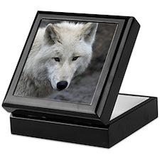 Wolf015 Keepsake Box